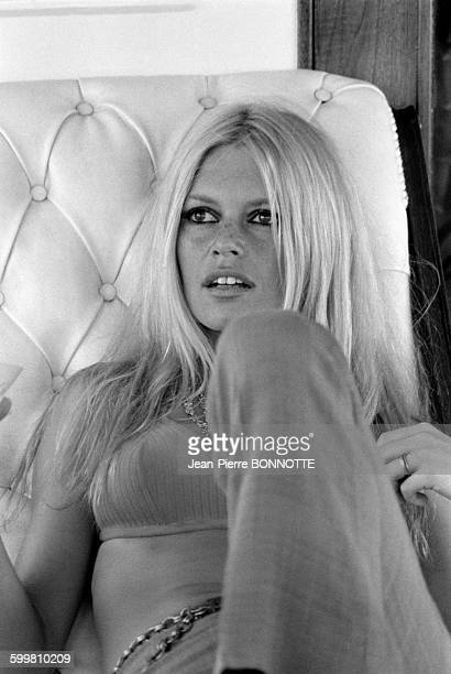 Brigitte Bardot in Her SaintTropez Estate La Madrague In SaintTropez France In August 1967