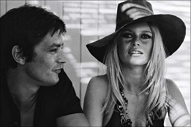 Brigitte Bardot In Saint Tropez, France In August, 1968.