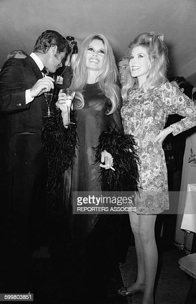 Brigitte Bardot lors de la première du film western 'Shalako' réalisé par Edward Dmytryk le 13 octobre 1968 à Munich Allemagne