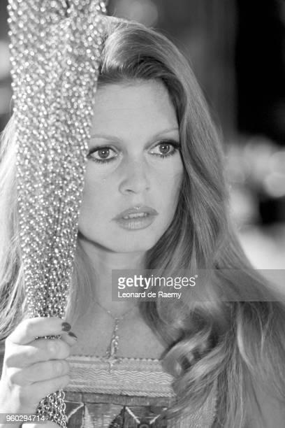 Brigitte Bardot on the set of Don Juan 73 directed by Roger Vadim