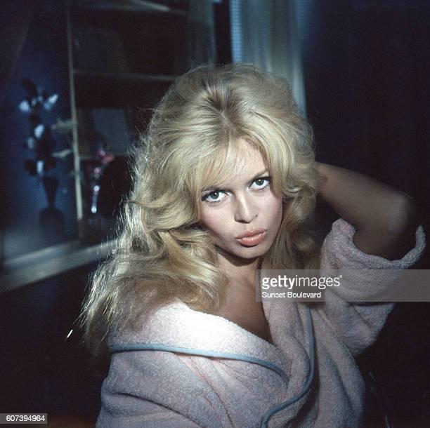 Brigitte Bardot on the set of Voulez Vous Danser Avec Moi
