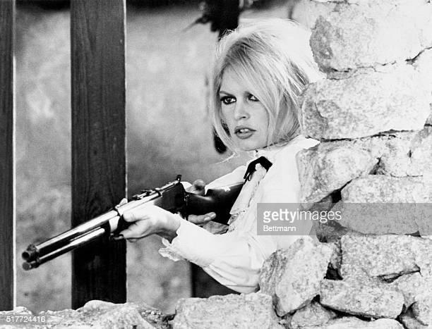 Brigitte Bardot plays Countess Irini Lazaar in the 1968 filmed-in-Spain Western Shalako.