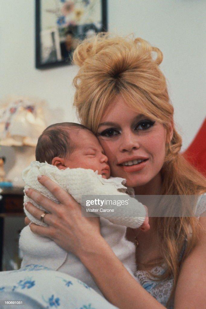Brigitte Bardot Presents His Son Nicolas Charrier : News Photo