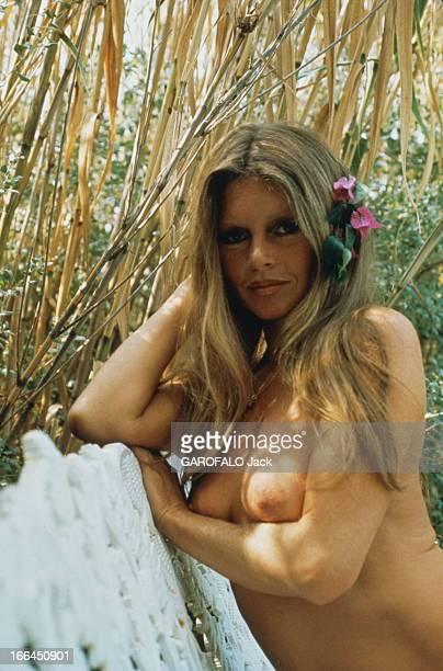 Brigitte Bardot Still Beautiful At 40 SaintTropez Septembre 1974 Brigitte BARDOT pose seins nus à la Madrague à l'heure de son anniversaire 40 ans