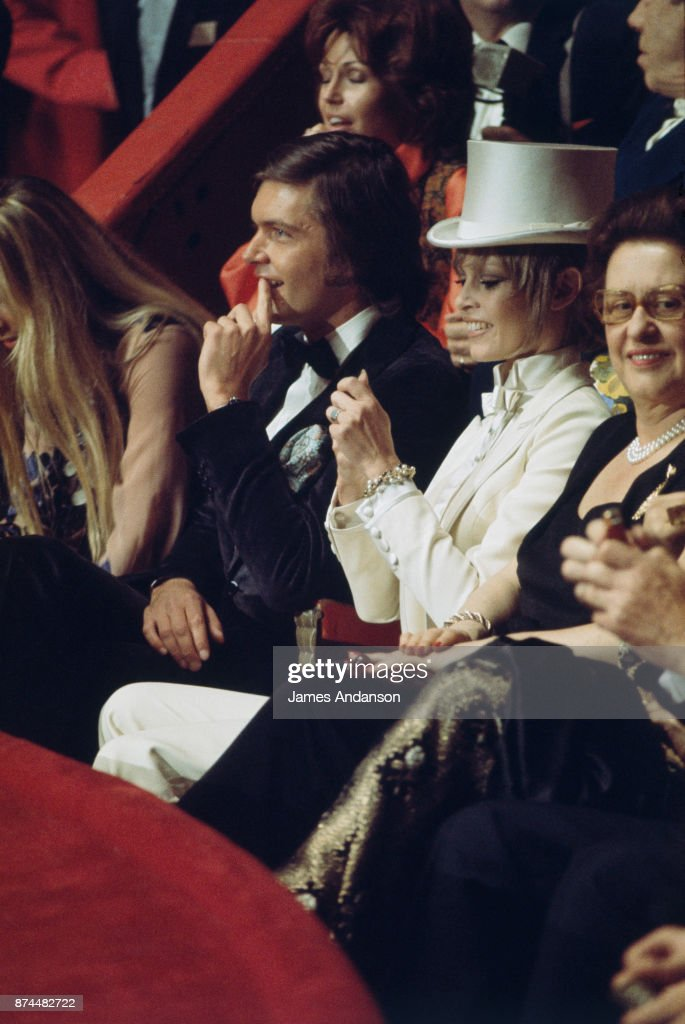 Brigitte Bardot with Patrick Gilles At The 'Gala De L'Union' In Paris, 18th April 1970