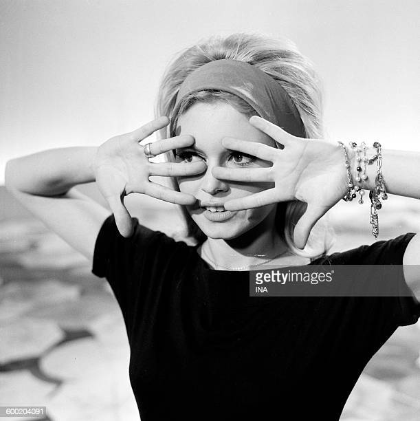 Brigitte Bardot's portrait during the recording of the television program Has your wishes Brigitte Bardot the new year