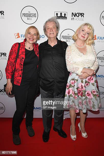 Brigitte Berman Gordon Pinsent and Leah Pinsent attends the 6th Annual Producers Ball presented by Fandango in support of The 2016 Toronto...