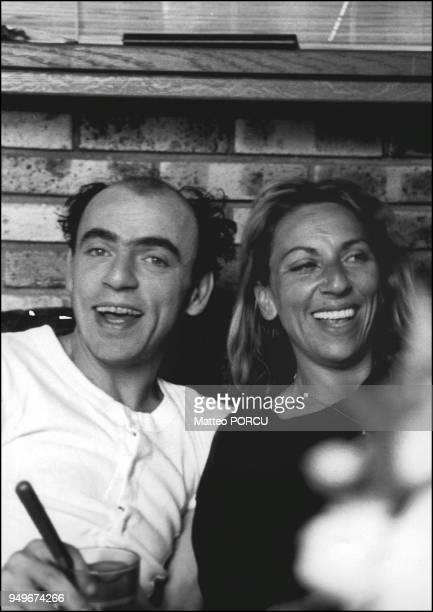 1994 Brigitte et Elie Kakou a l'issue d'un spectacle au theatre Dejazet a Paris 1994 Brigitte et Elie Kakou a l'issue d'un spectacle au theatre...