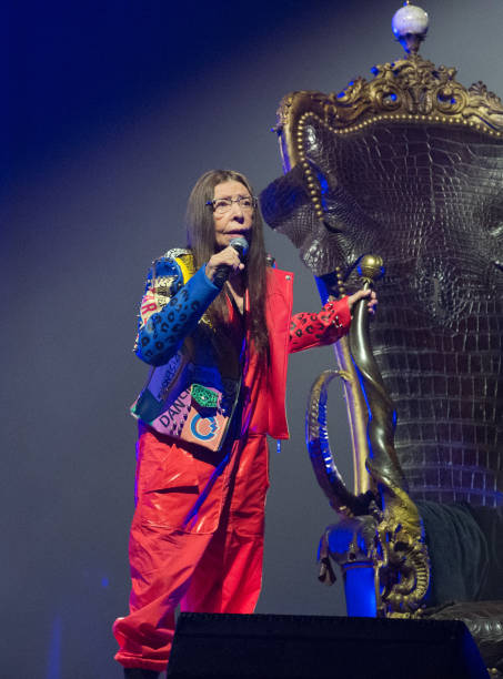 FRA: Brigitte Fontaine Performs At L'Olympia In Paris