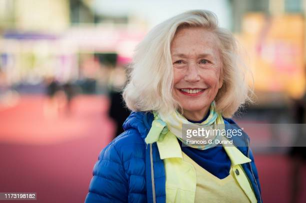 Brigitte Fossey arrives at the screening of Waiting for the Barbarians during the 45th Deauville American Film Festival on September 08 2019 in...
