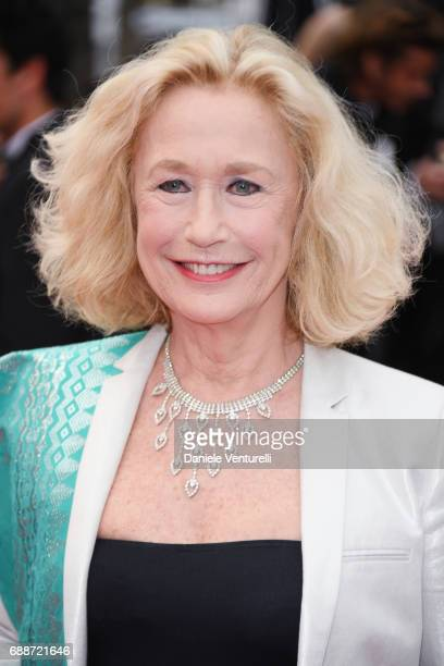 Brigitte Fossey attends Amant Double Red Carpet Arrivals during the 70th annual Cannes Film Festival at Palais des Festivals on May 26 2017 in Cannes...