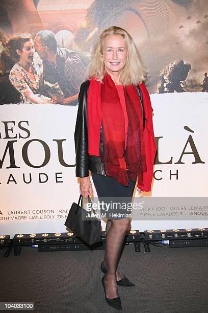 Brigitte Fossey attends 'Ces Amours La' Paris premiere at Cinema UGC Normandie on September 12 2010 in Paris France