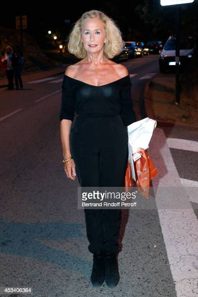 Brigitte Fossey attends the 30th Ramatuelle Festival Day 9 on August 9 2014 in Ramatuelle France