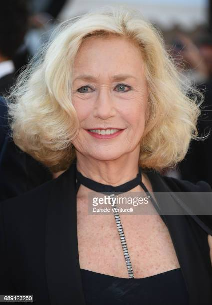 Brigitte Fossey attends the Closing Ceremony of the 70th annual Cannes Film Festival at Palais des Festivals on May 28 2017 in Cannes France
