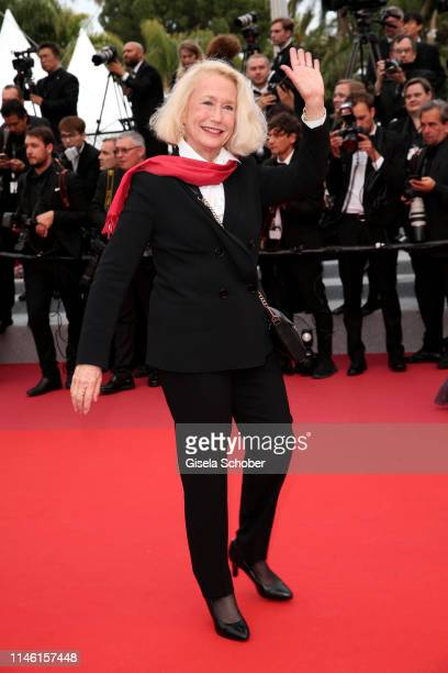 Brigitte Fossey attends the screening of Sibyl during the 72nd annual Cannes Film Festival on May 24 2019 in Cannes France