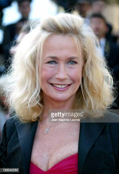 Brigitte Fossey during 2004 Cannes Film Festival The Life and Death of Peter Sellers Premiere at Palais Du Festival in Cannes France