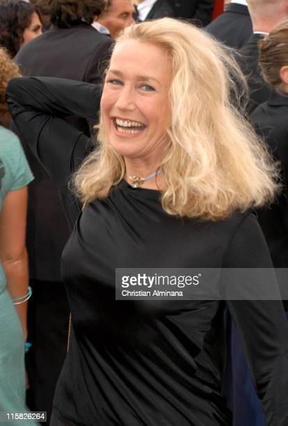 Brigitte Fossey during 2005 Cannes Film Festival Broken Flowers Premiere at Le Palais de Festival in Cannes France