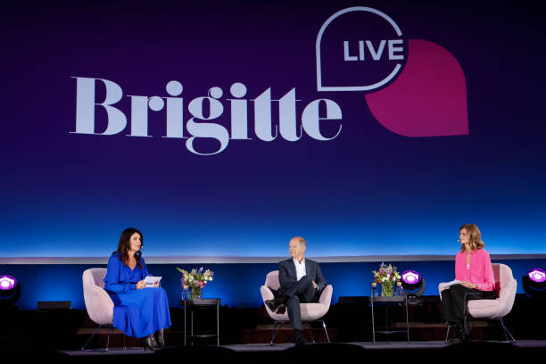 DEU: Brigitte Live With Olaf Scholz In Berlin