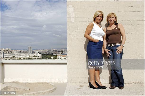 "Brigitte Kakou: ""Elie Kakou, my brother,"" the first biography devoted to the comic disappeared in Marseille, France on October 06, 2005 - From left..."
