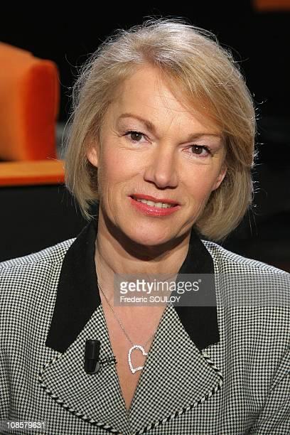 Brigitte Lahaie in Paris France on April 01 2009