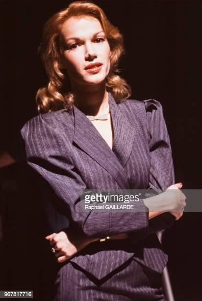Brigitte Lahaie le 27 mars 1987 à Paris France