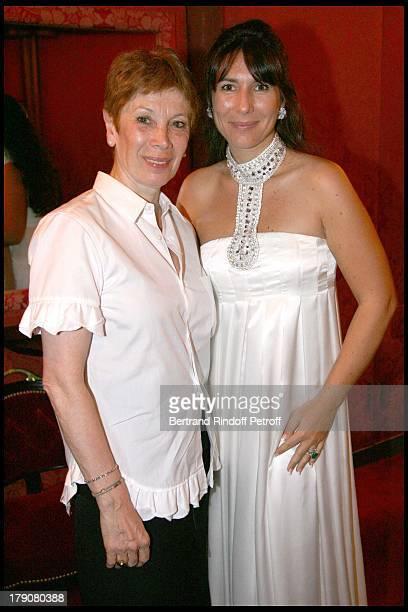 Brigitte Lefevre and Mrs Philippe Journo at AROP Production Of 'Demofoonte' At Palais Garnier