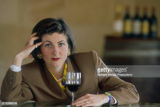Brigitte Lurton owns the Chateau DurfortVivens winery The vineyard is located in the Margaux region