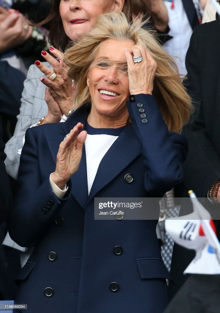 Brigitte Macron Attends The 2019 Fifa Women S World Cup France Group News Photo Getty Images