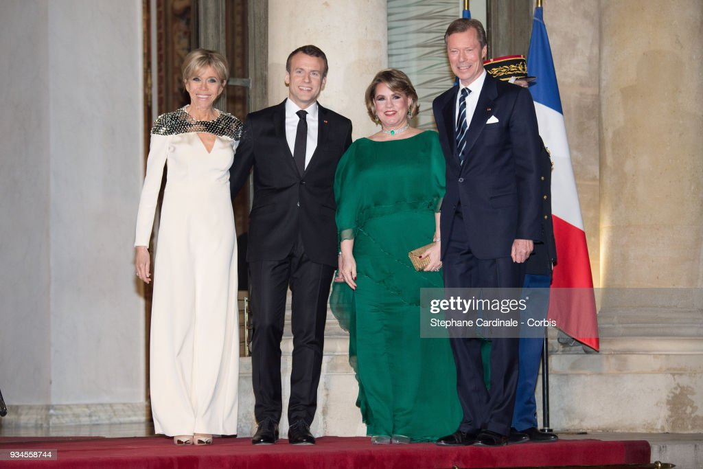 Official Visit of Grand-Duc Henri Of Luxembourg and Grande-Duchesse Maria Teresa Of Luxembourg : Day Two : Nieuwsfoto's