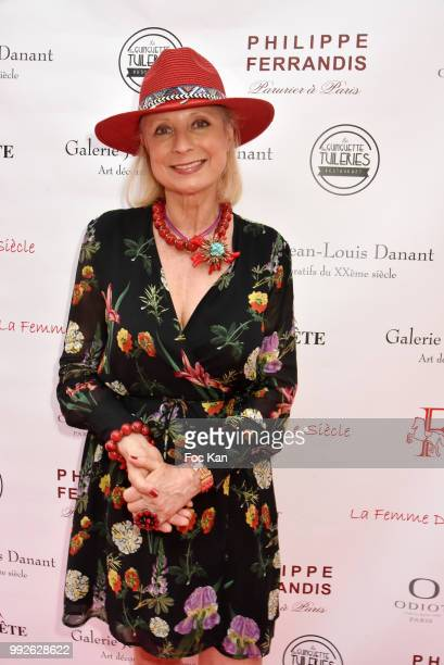 Brigitte Mancel Attends 'La Femme Dans Le Siecle' Dinner on July 5 2018 in Paris France