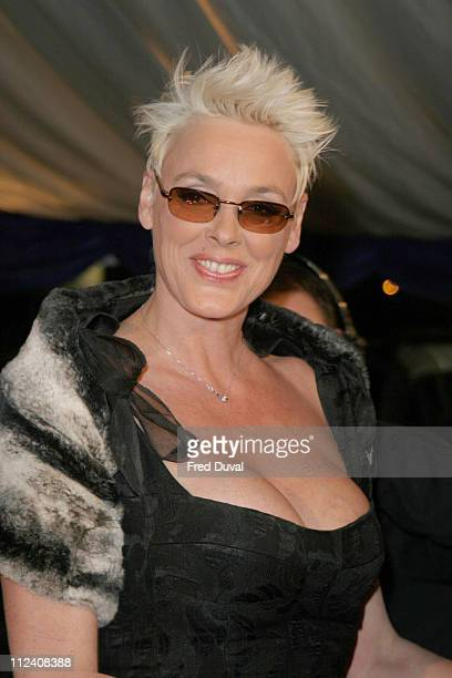 Brigitte Nielsen and guest during British Comedy Awards 2004 - Arrivals at LWT, Southbank in London, Great Britain.