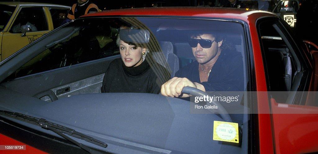 Brigitte Nielsen and Mark Gastineau Sighting in New York City - February 2, 1988 : News Photo