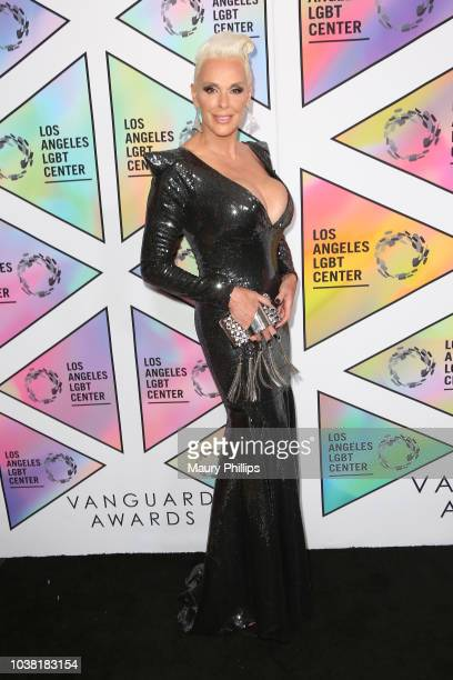 Brigitte Nielsen arrives at the Los Angeles LGBT Center's 49th Anniversary Gala Vanguard Awards at The Beverly Hilton Hotel on September 22 2018 in...
