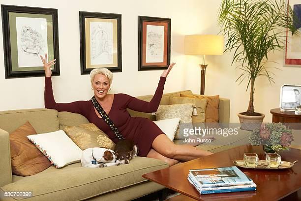 Brigitte Nielsen at Home