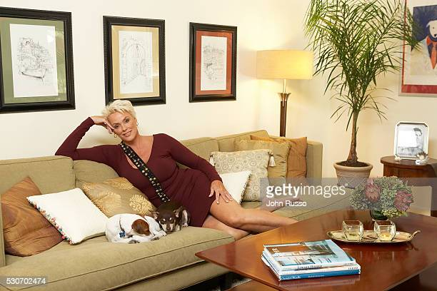 Brigitte Nielsen at Home