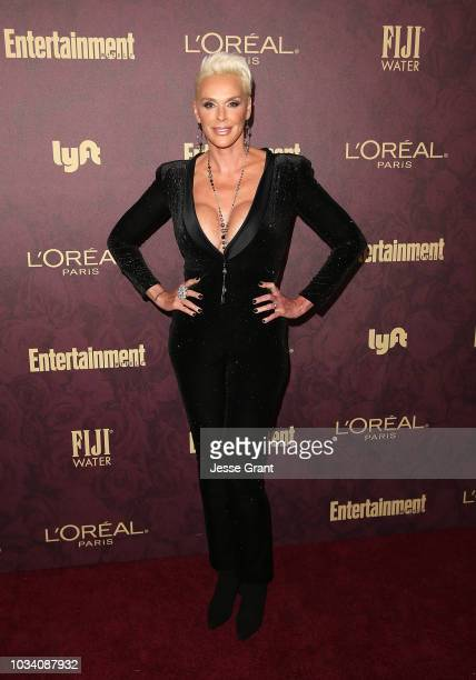 Brigitte Nielsen attends FIJI Water at Entertainment Weekly PreEmmy Party on September 15 2018 in Los Angeles California