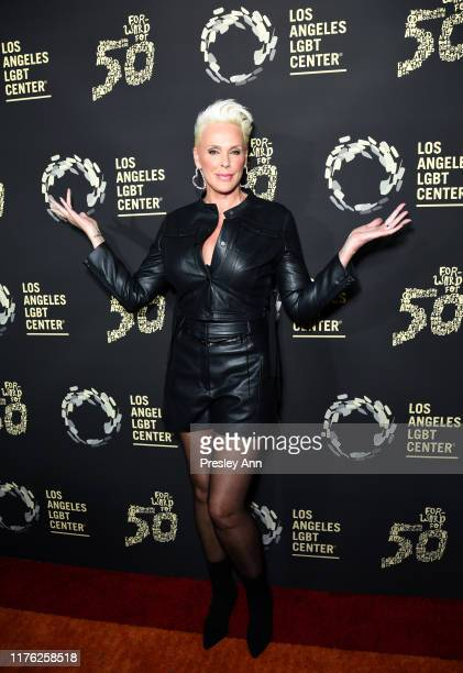Brigitte Nielsen attends Los Angeles LGBT Center Celebrates 50th Anniversary With Hearts Of Gold Concert Multimedia Extravaganza at The Greek Theatre...