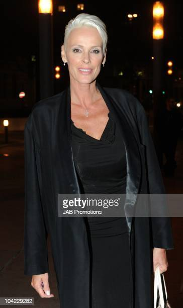 Brigitte Nielsen attends the after party for the PPQ S/S 2011 show at London Fashion Week at Park Plaza Westminster Bridge Hotel on September 17 2010...