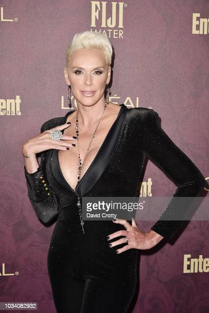 Brigitte Nielsen attends the Entertainment Weekly PreEmmy Party 2018 at Sunset Tower Hotel on September 15 2018 in West Hollywood California