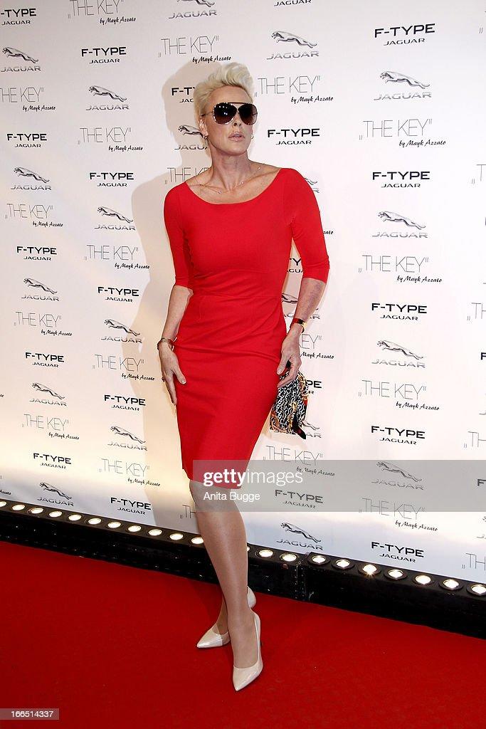 Brigitte Nielsen Attends The Jaguar F Type Commercial Short Movie U0027The Keyu0027  Premiere