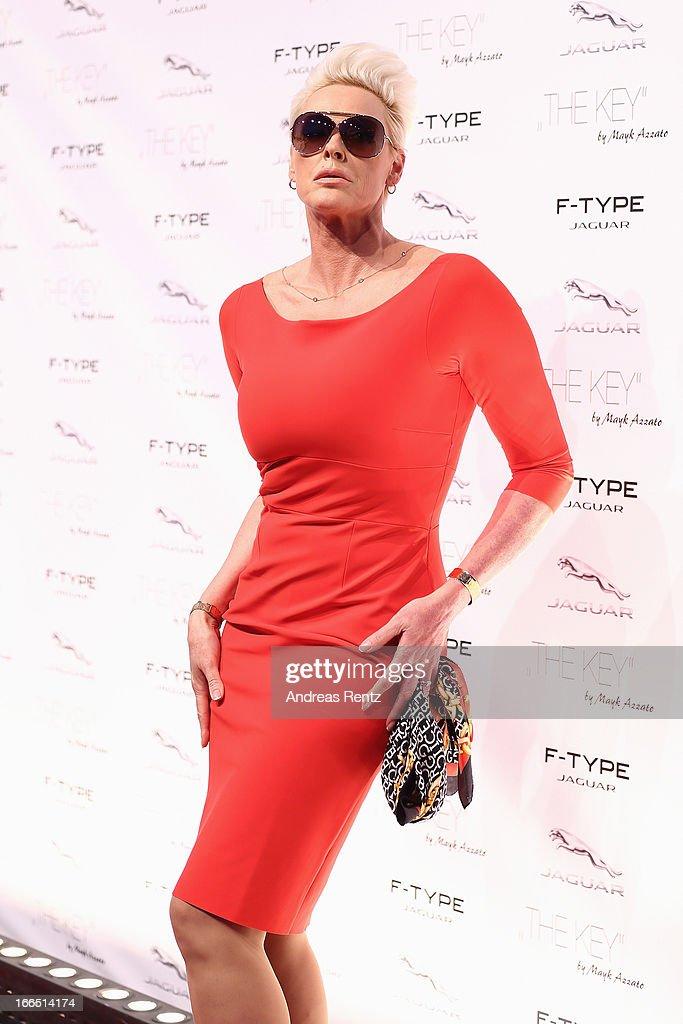 Brigitte Nielsen attends the Jaguar F-Type short film 'The Key' Premiere at e-Werk on April 13, 2013 in Berlin, Germany.