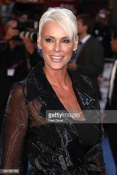 Brigitte Nielsen attends the UK premiere of 'The Death and Life of Charlie St Cloud' at Empire Leicester Square on September 16 2010 in London England