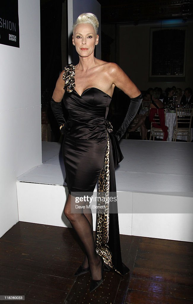 Brigitte Nielsen attends Trust In Fashion at One Mayfair on the 29 June,2011in London,England.