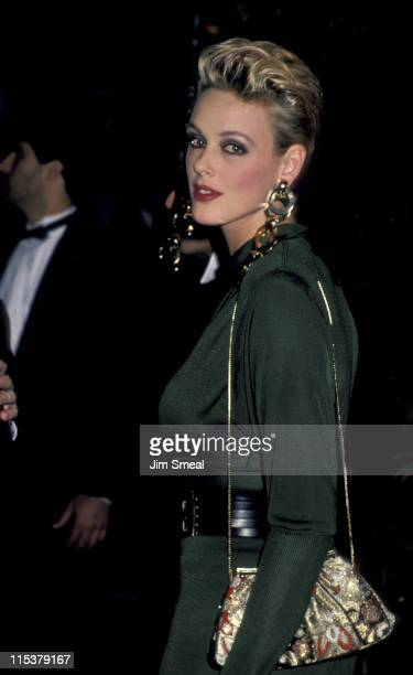 Brigitte Nielsen during AFI Lifetime Achievement Award to Billy Wilder at Beverly Hilton Hotel in Beverly Hills California United States
