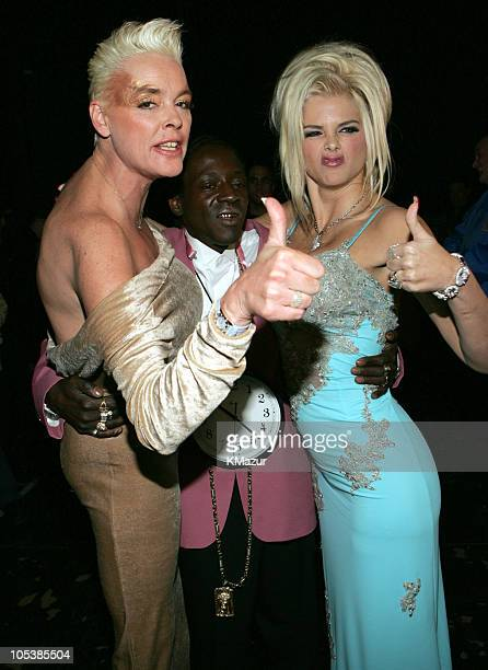 Brigitte Nielsen Flavor Flav and Anna Nicole Smith