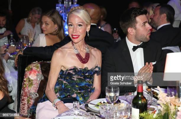 Brigitte Reid during the amfAR Gala Cannes 2018 dinner at Hotel du CapEdenRoc on May 17 2018 in Cap d'Antibes France