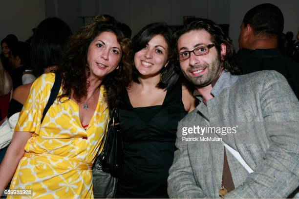 Brigitte Segura Alison Levy and Rodin Banica attend 10th ANNUAL PARSONS FASHION STUDIES LINE DEBUT at Lord Taylor on May 14 2009 in New York City
