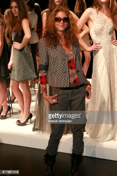 Brigitte Segura attends BIBHU MOHAPATRA Spring 2011 Show at The Box at Lincoln Center on September 14 2010 in New York City