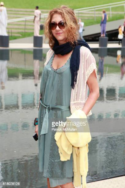 Brigitte Segura attends CATHERINE MALANDRINO Spring 2011 Fashion Show at Hearst Plaza Terrace on September 12 2010 in New York City