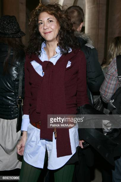 Brigitte Segura attends JILL STEWART Fall 2009 Collection at Astor Hall on February 16 2009 in New York City